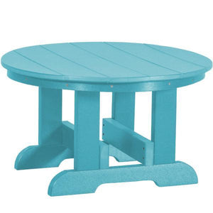 Little Cottage Co. Heritage Conversation Table Table Aruba Blue