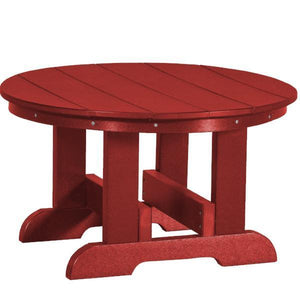 Little Cottage Co. Heritage Conversation Table Table Cardinal Red