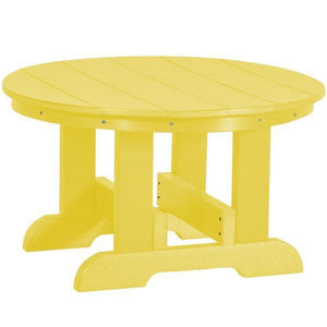 Little Cottage Co. Heritage Conversation Table Table Lemon Yellow