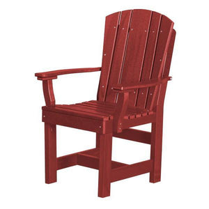 Little Cottage Co. Heritage Dining Chair With Arms Dining Chair Cardinal Red