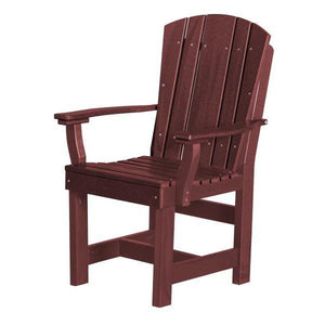 Little Cottage Co. Heritage Dining Chair With Arms Dining Chair Cherry Wood