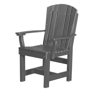 Little Cottage Co. Heritage Dining Chair With Arms Dining Chair Dark Gray