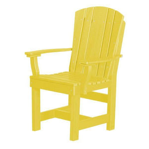 Little Cottage Co. Heritage Dining Chair With Arms Dining Chair Lemon Yellow