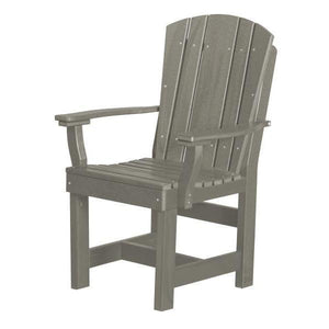 Little Cottage Co. Heritage Dining Chair With Arms Dining Chair Light Gray