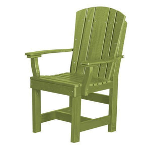 Little Cottage Co. Heritage Dining Chair With Arms Dining Chair Lime Green