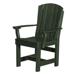 Little Cottage Co. Heritage Dining Chair With Arms Dining Chair Turf Green