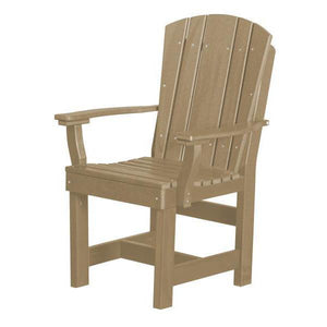 Little Cottage Co. Heritage Dining Chair With Arms Dining Chair Weathered Wood