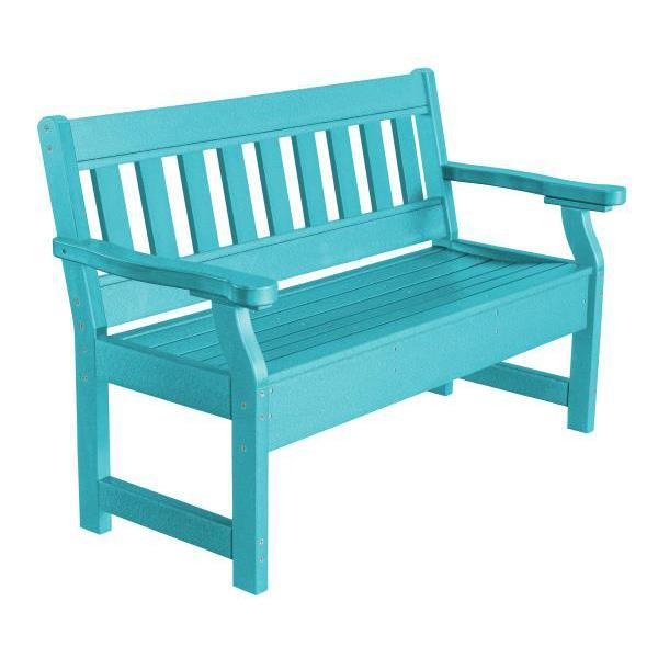 Little Cottage Co. Heritage Garden Bench Bench Aruba Blue