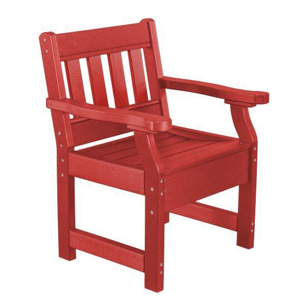 Little Cottage Co. Heritage Garden Chair Chair Cardinal Red