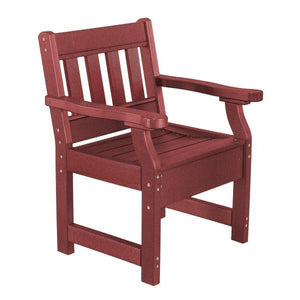 Little Cottage Co. Heritage Garden Chair Chair Cherrywood