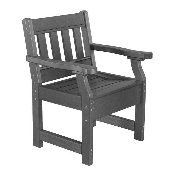 Little Cottage Co. Heritage Garden Chair Chair Dark Grey