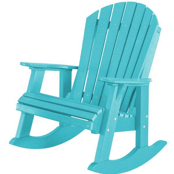 Little Cottage Co. Heritage High Fan Back Rocker Rocker Chair Aruba