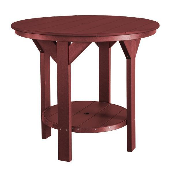 Little Cottage Co. Heritage Pub Table Table Cherrywood