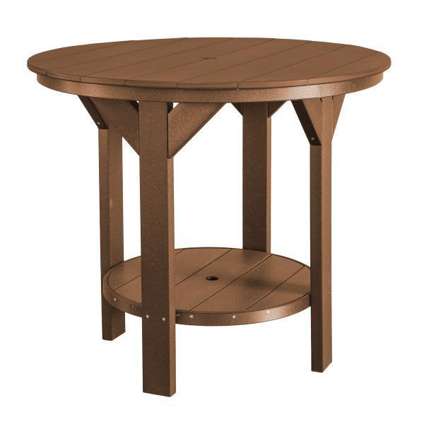 Little Cottage Co. Heritage Pub Table Table Tudor Brown
