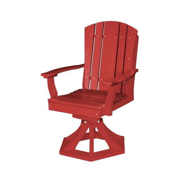 Little Cottage Co. Heritage Swivel Rocker Dining Chair Dining Chair Cardinal Red
