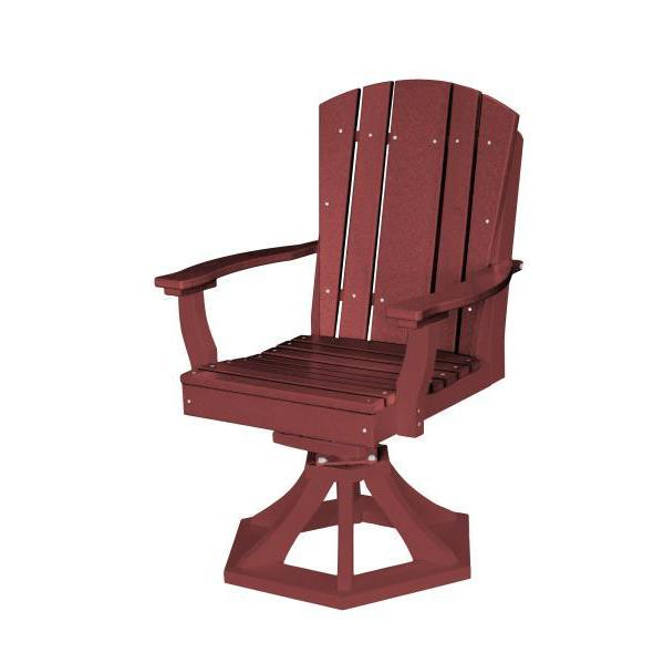 Little Cottage Co. Heritage Swivel Rocker Dining Chair Dining Chair Cherry Wood