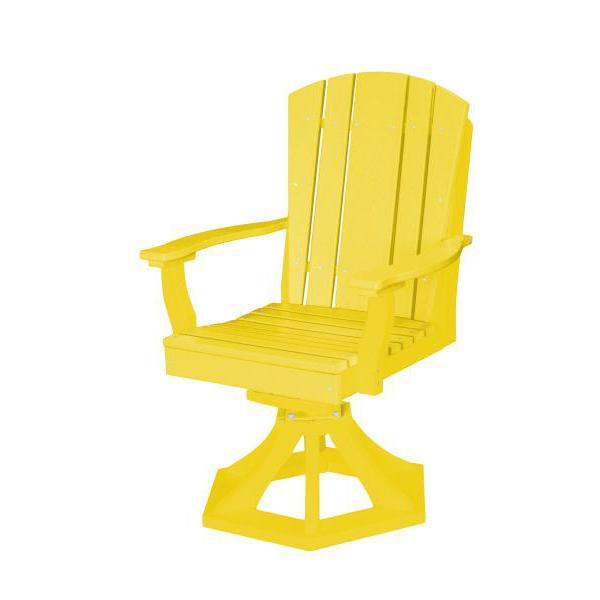 Little Cottage Co. Heritage Swivel Rocker Dining Chair Dining Chair Lemon Yellow