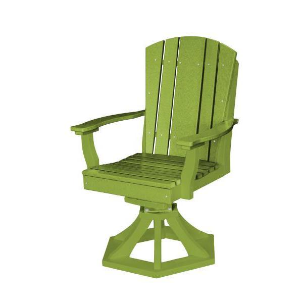 Little Cottage Co. Heritage Swivel Rocker Dining Chair Dining Chair Lime Green