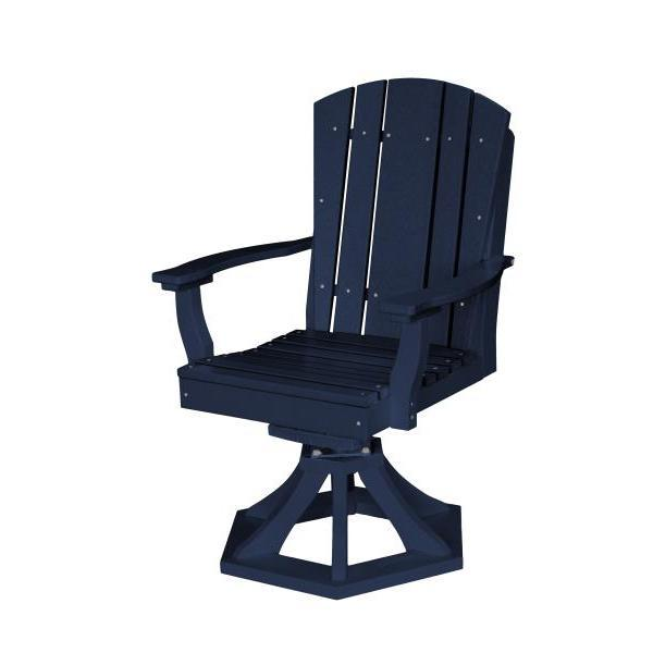Little Cottage Co. Heritage Swivel Rocker Dining Chair Dining Chair Patriot Blue
