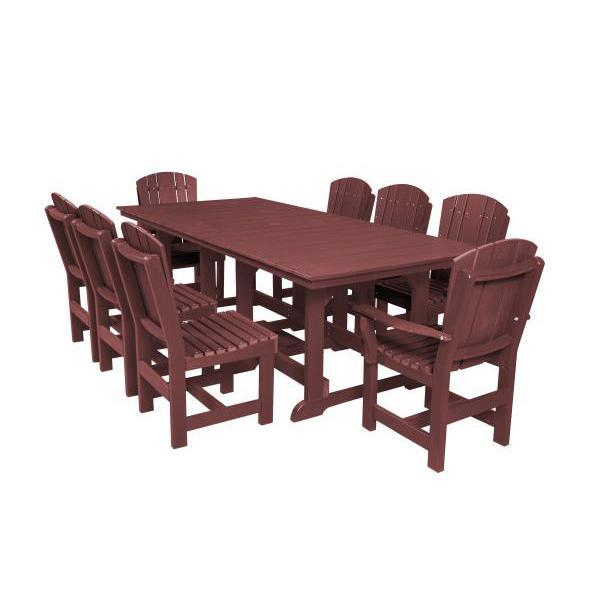 Little Cottage Co. Heritage Table, 6 Dining Chairs, 2 Arm Chairs Dining Set Cherry Wood