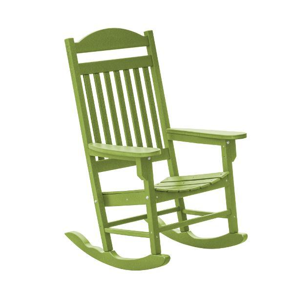 Little Cottage Co. Heritage Traditional Plastic Rocker Chair Rocker Chair Lime
