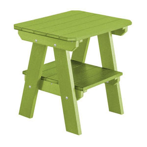Little Cottage Co. Heritage Two Tier End Table Table Lime