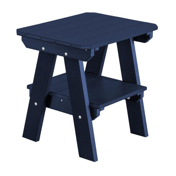 Little Cottage Co. Heritage Two Tier End Table Table Patriot Blue