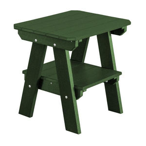 Little Cottage Co. Heritage Two Tier End Table Table Turf Green