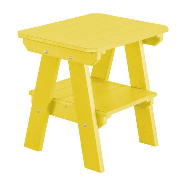 Little Cottage Co. Heritage Two Tier End Table Table Yellow