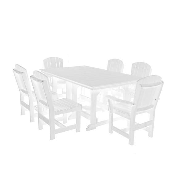 Little Cottage Co. Table, 4 Dining Chairs, 2 Arm Chairs Dining Set White