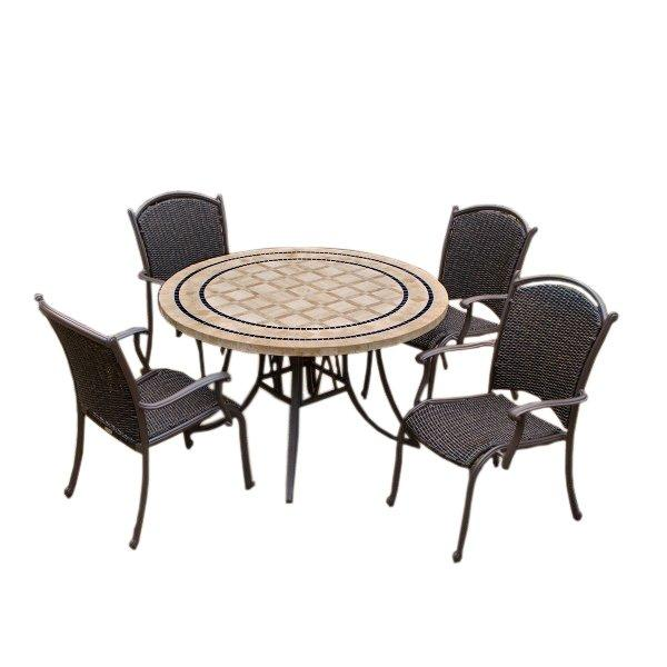 Marquesas 5Pc Dining Set