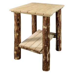 Montana Woodworks Glacier Country Exterior End Table Outdoor Tables
