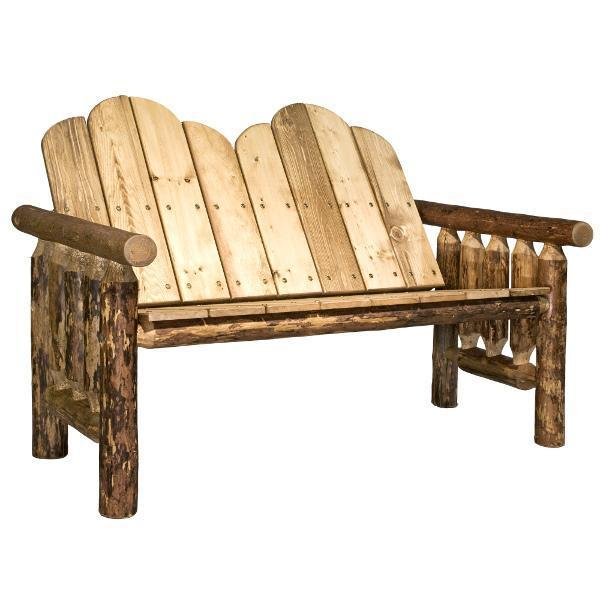 Montana Woodworks Glacier Country Wood Deck Bench Garden Benches