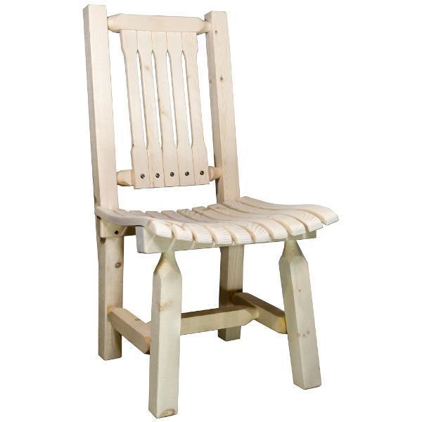 Montana Woodworks Homestead Collection Patio Chair Outdoor Chairs Ready to Finish