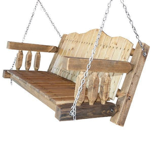 Montana Woodworks Homestead Porch Swing Seat with Chains
