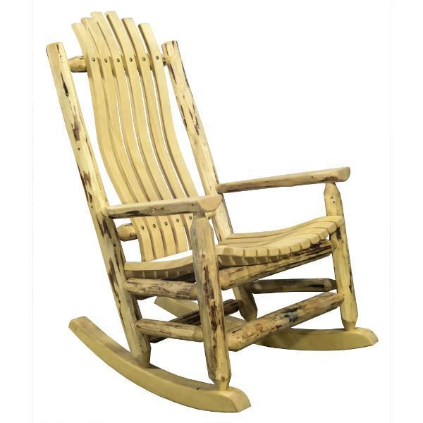 Montana Woodworks Montana Adult Log Rocker Chair Rocker Chair