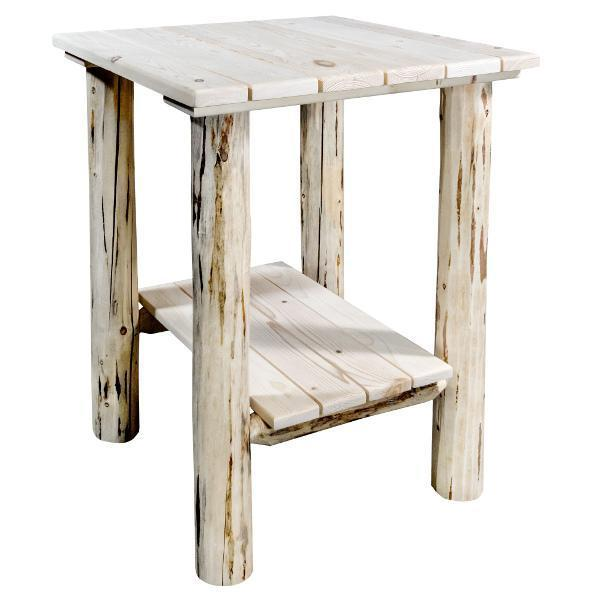 Montana Woodworks Montana Exterior End Table Outdoor Tables Ready to Finish