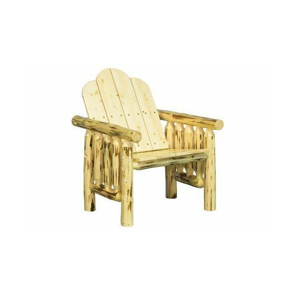 Montana Woodworks Montana Log Deck Chair Outdoor Chairs Exterior Stain