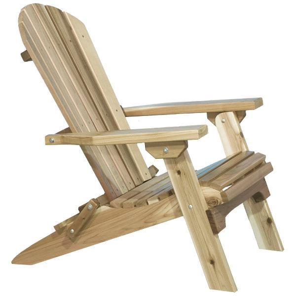 Montana Woodworks Western Red Cedar Adirondack Chair Adirondack Chair Ready to Finish
