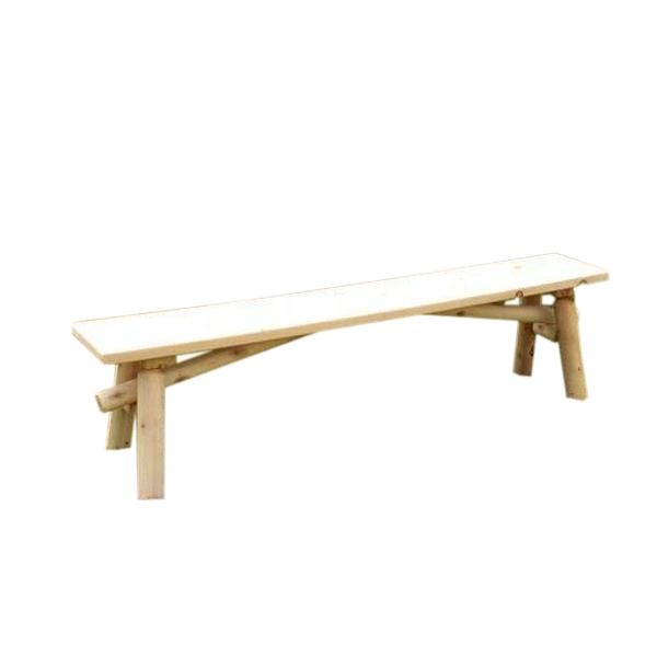 Outdoor Cedar Bench