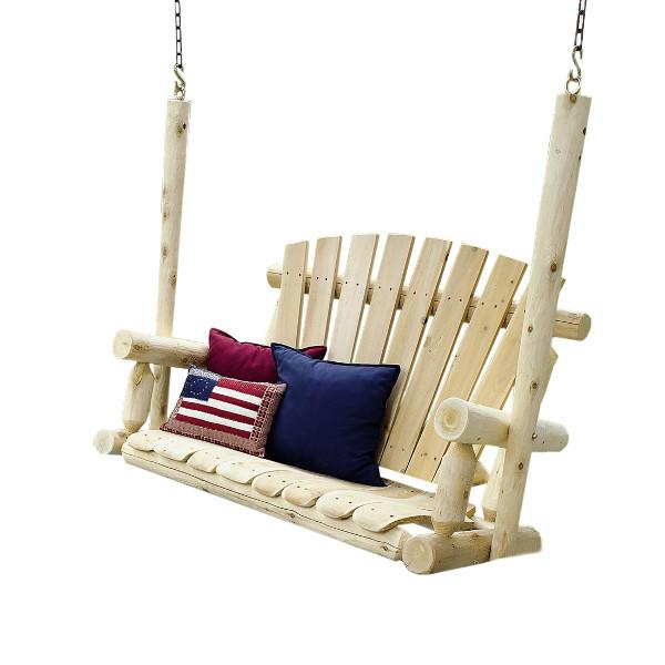 Rustic Cedar Porch Swing
