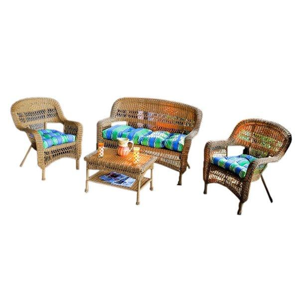 Portside 4Pc Seating Set