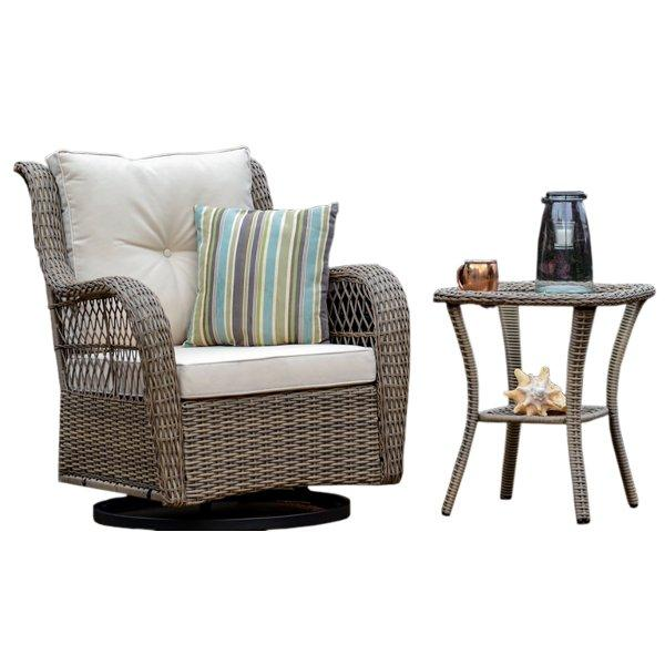 Rio Vista 2-Piece Side Table and Chair Set