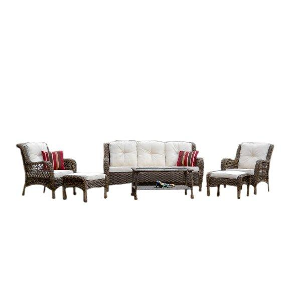 Rio Vista 6pc Outdoor Wicker Sofa Set