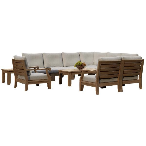 Riviera 11-Pieces Modular Deep Seating Set