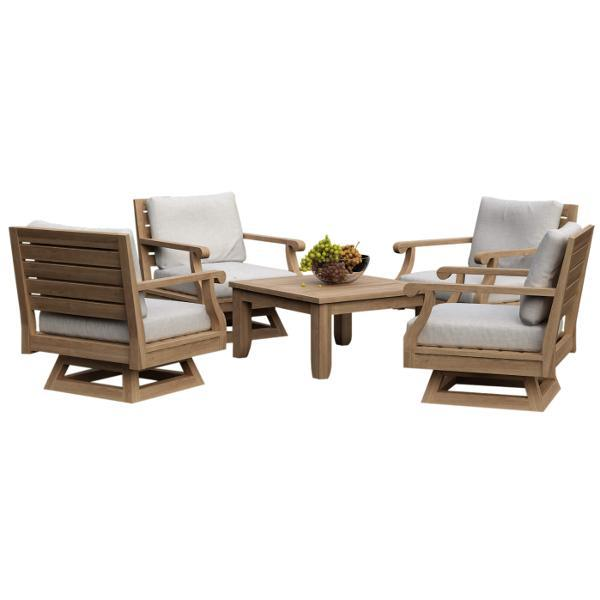 Riviera 5-Pieces Modular Deep Seating Set