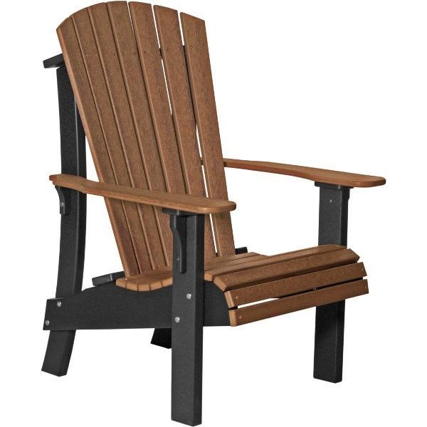 Royal Adirondack Chair Adirondack Chair Antique Mahogany & Black