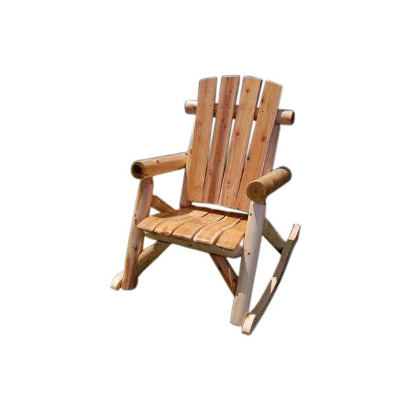 Rustic Cedar Log Rocker M-1700