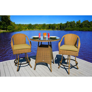 Sea Pines 3Pc Bar Set