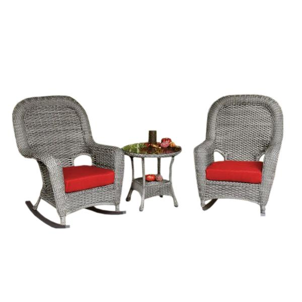 Sea Pines 3Pc Rocker & Table Set
